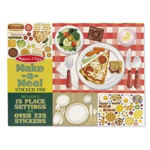 Блокче със стикери за многократна употреба ястия Melissa & Doug 14193 1