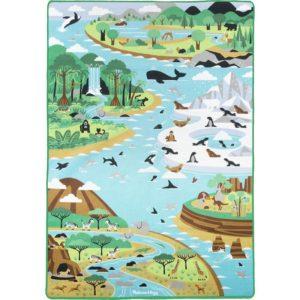 Голямо детско килимче за игра с животни Melissa & Doug 15192 1