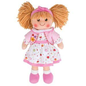 Детска голяма мека кукла Кели Bigjigs - 34 cm BJD013 1