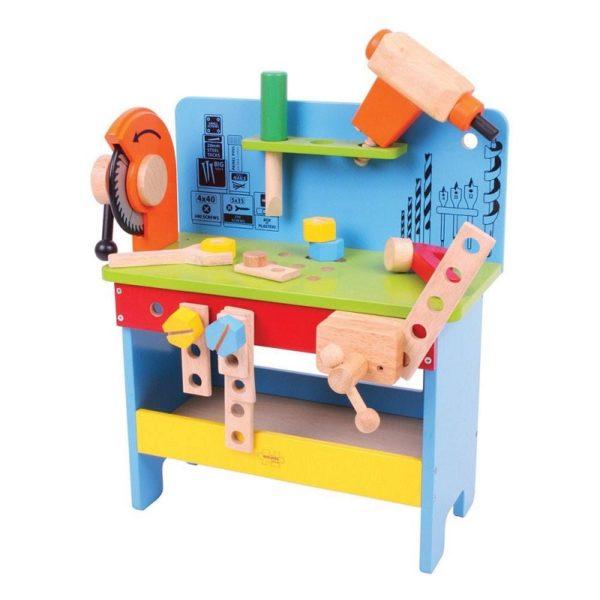 Детска дървена работилница Bigjigs BJ341 1