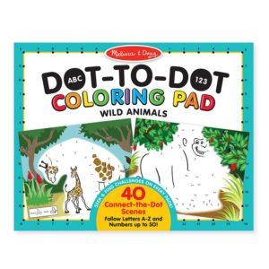 Детска книжка за оцветяване свържи точките Melissa & Doug 19104 1