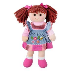 Детска кукла от плат Мелъди Bigjigs - 34 cm BJD028 1