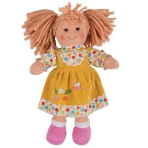 Детска мека кукла Дейзи Bigjigs - 28 cm BJD002 1
