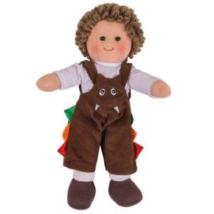 Детска мека кукла Джак Bigjigs - 28 cm BJD045 1