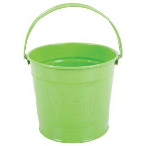 Детска метална кофичка Bigjigs - зелена BJ295 1