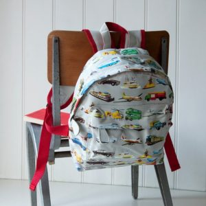 Детска раница за градина и училище с превозни средства Rex London 25661 1