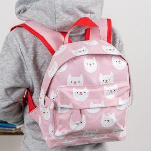 Детска раница за момиче за градина и училище котето Куки Rex London 28453 1