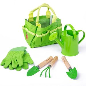 Детски градински инструменти в чантичка Bigjigs BJ279 1