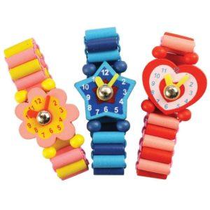Детски дървен часовник Bigjigs BJ129 1