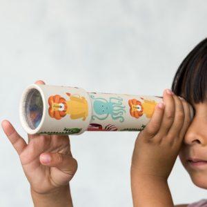 Детски калейдоскоп с животни Rex London 27698 1