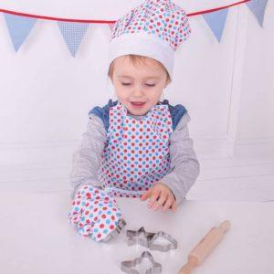 Детски костюм готвач на точки Bigjigs BJ633 1