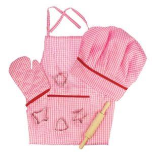 Детски костюм готвач Bigjigs - розов BJ609 1