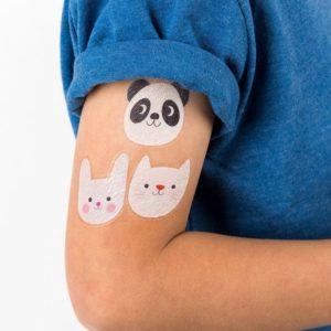 Детски татуировки пандата Мико и приятели Rex London - 2 листа 28322 1