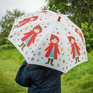 Детски чадър за дъжд Червената шапчица Rex London 26979 1
