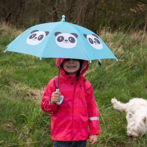 Детски чадър за дъжд пандата Мико Rex London 28066 1