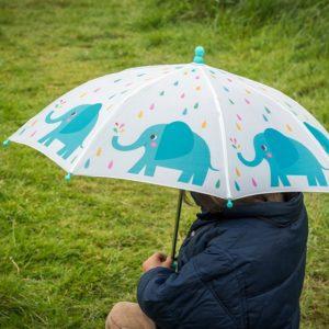 Детски чадър за дъжд слончето Елвис Rex London 26978 1