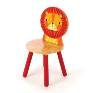 Детско дървено столче лъвче Bigjigs T0203 1