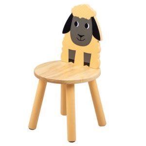 Детско дървено столче овчица Bigjigs T0623 1