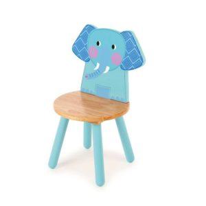 Детско дървено столче слонче Bigjigs T0201 1