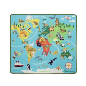 Детско килимче за игра карта на Света Melissa & Doug 15194 1