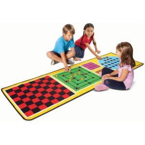 Детско килимче за игра със забавни игри Melissa & Doug 4 в 1 19424 1