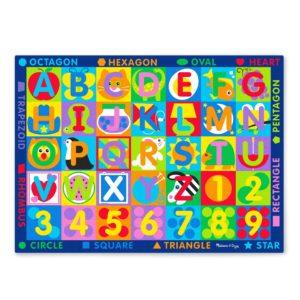 Детско килимче за игра с букви и цифри Melissa & Doug 15193 1