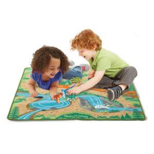 Детско килимче за игра с динозаври Melissa & Doug 19427 1