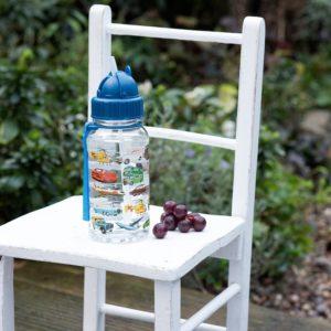 Детско шише за вода с превозни средства Rex London 26206 1