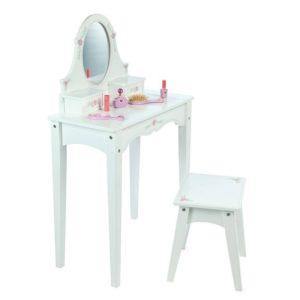 Дървена детска тоалетка за гримиране Bigjigs T0067 1