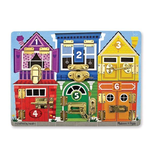 Дървена дъска с ключалки Melissa & Doug 13785 1