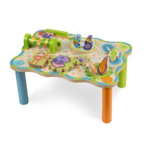 Дървена маса с активности джунгла Melissa & Doug 40122 1