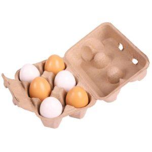 Дървени яйца за игра BigJigs BJ711 1