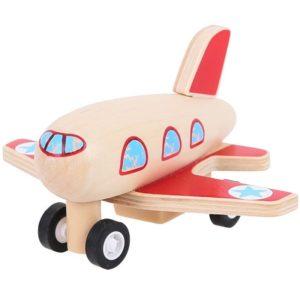Дървено самолетче Bigjigs BJ993 1