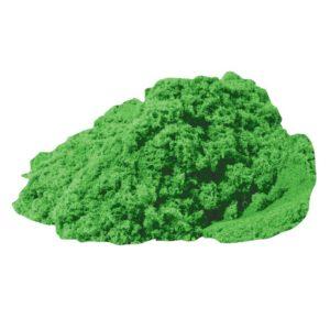 Зелен кинетичен пясък за деца Bigjigs - 500 грама GW18535G 1