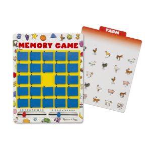 Игра за трениране на паметта Обърни и спечели Melissa & Doug 12090 1