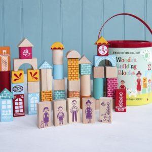 Игра с дървени блокчета - 50 броя Rex London 26133 1