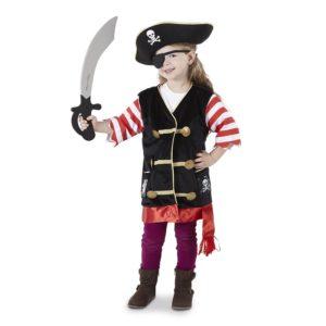 Карнавален костюм за деца пират Melissa & Doug 14848 1