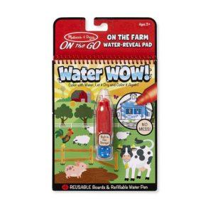 Книжка за оцветяване с вода животните във фермата Melissa & Doug 19232 1