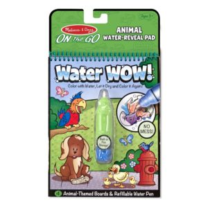Книжка за оцветяване с вода животни Melissa & Doug 15376 1