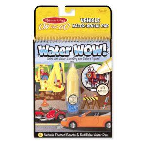 Книжка за оцветяване с вода превозни средства Melissa & Doug 15375 1