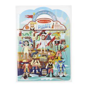 Книжка със стикери за многократна употреба пирати Melissa & Doug 19102 1