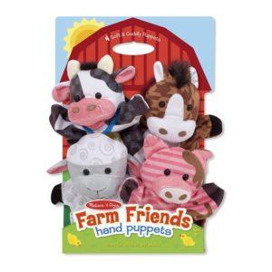 Кукли за ръце за куклен театър животните от фермата Melissa & Doug 19080 1