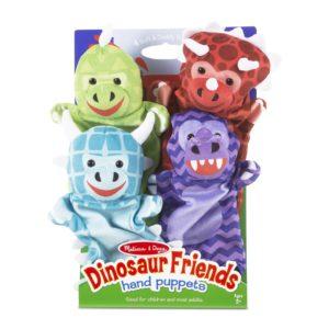 Кукли за ръце за куклен театър приятелите динозаври Melissa & Doug 19085 1