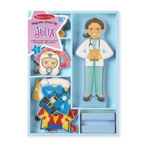 Магнитна кукла за обличане Джулия Melissa & Doug 15164 1