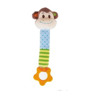 Писукаща мека играчка Маймунка Bigjigs -BB524 1