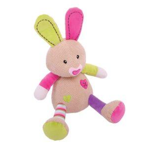 Плюшено зайче за бебе Bigjigs - 31 cm BB500 1