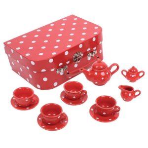 Порцеланов детски чаен сервиз в куфарче Bigjigs BJ613 1