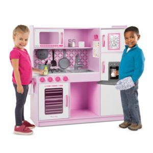 Розова дървена детска кухня Melissa & Doug 14002 1