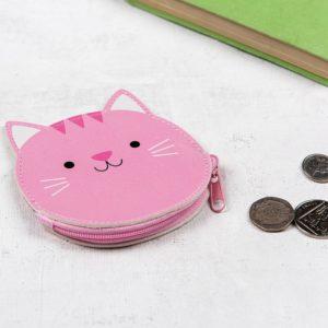 Розово детско портмоне за момичета котето Куки Rex London 27196 1