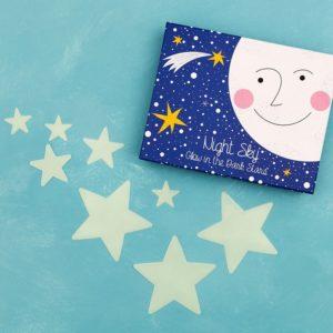 Светещи звезди за детска стая Rex London - 30 броя 28010 1